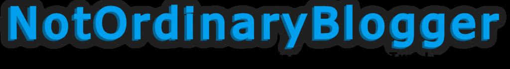 notordinaryblogger-logo