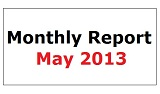 Monthly Report May 2013