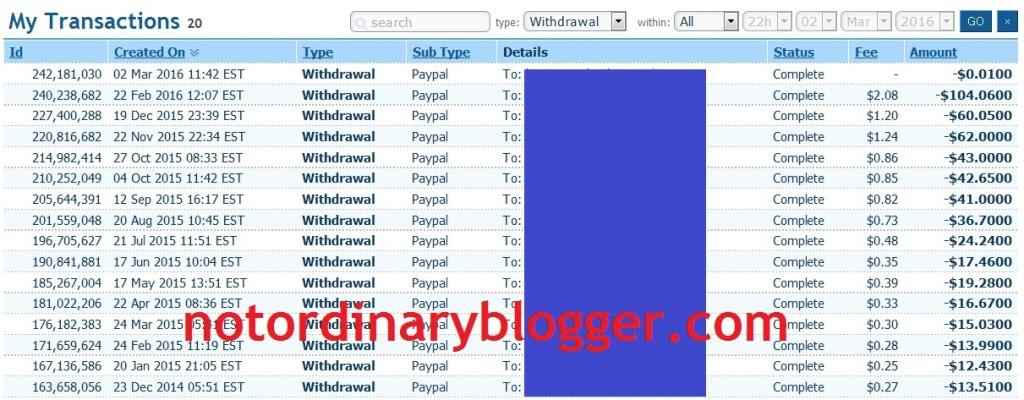 Cara Mendapat Uang dari Internet Tanpa Ngeblog Payout 100 dollar