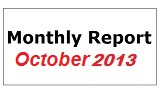 Monthly Report October 2013