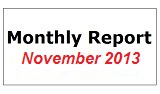 Monthly Report November 2013