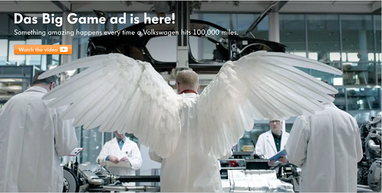 Gambar Yang Tepat Dalam Iklan VolksWagen