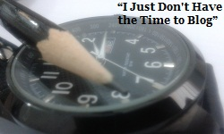 How to Provide Time for Blogging