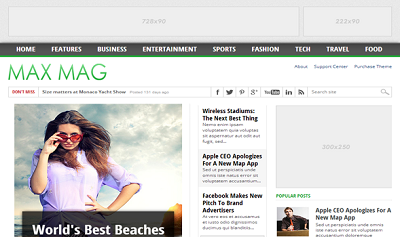 MaxMag-Responsive-Blogger-Template