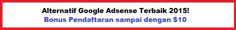 Alternatif Google Adsense 2015