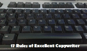 17 Rules of Excellent Copywriter