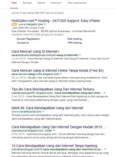 Cara Cek Posisi Artikel di Google 2