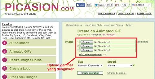 Membuat Banner di Blog dengan Picasion 1
