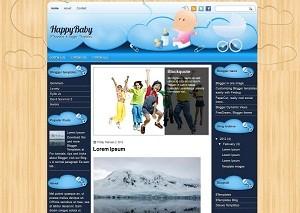 HappyBaby Template