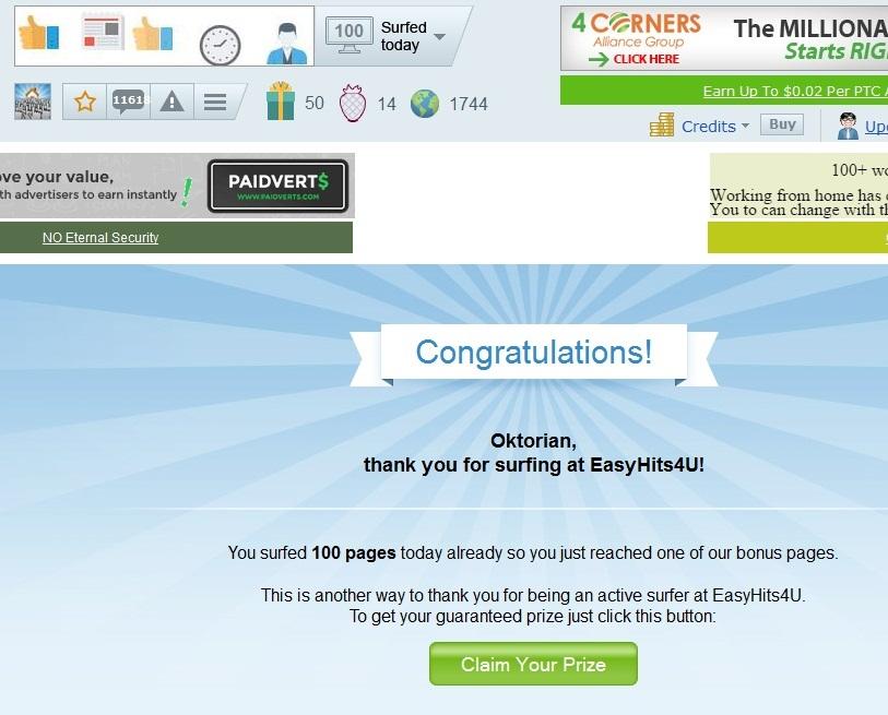Cara Cari Uang Online Dengan Easyhits 12