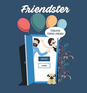 Media Sosial Friendster Kembali Hidup