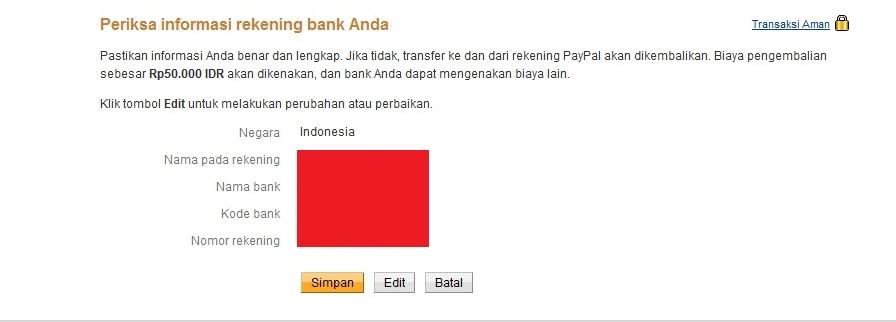 Cara Transfer Uang Paypal ke Rekening Bank di Indonesia 6