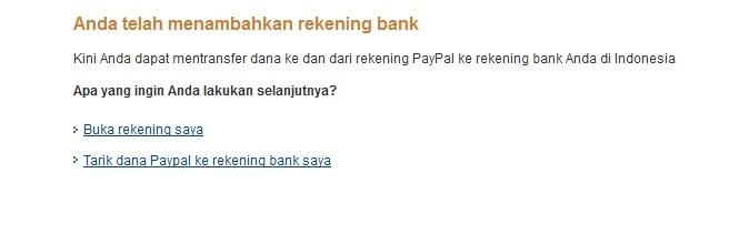 Cara Transfer Uang Paypal ke Rekening Bank di Indonesia 7