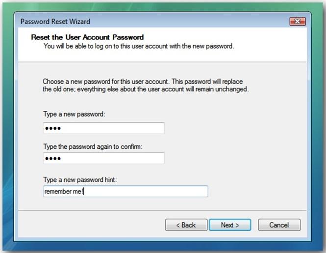 Cara Membuat Password Reset Disk 11