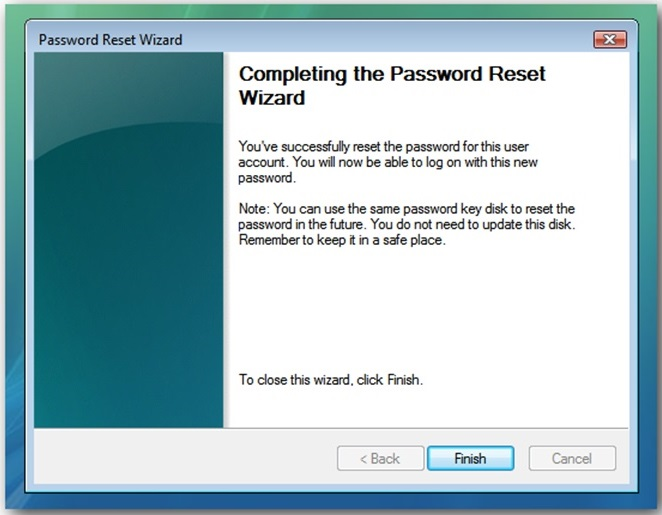 Cara Membuat Password Reset Disk 12