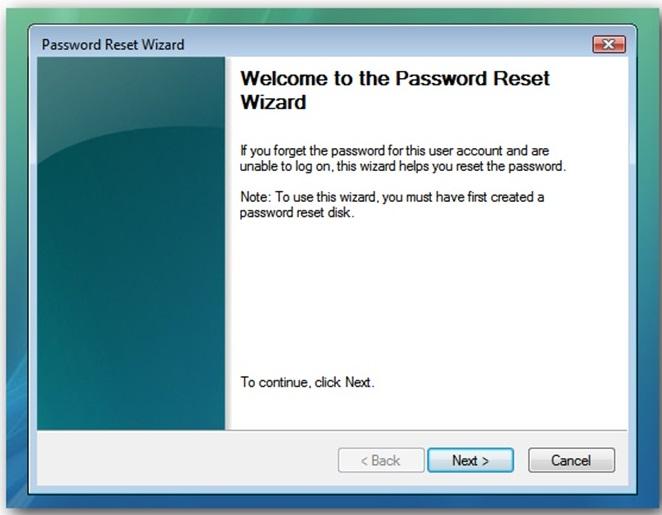 Cara Membuat Password Reset Disk 9