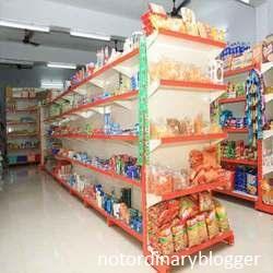 Desain Rak Supermarket