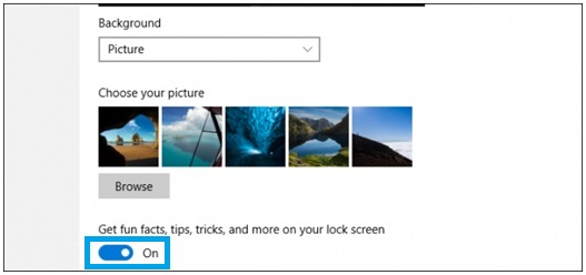 Hilangkan Iklan Pada Windows 10 Lock Screen 4
