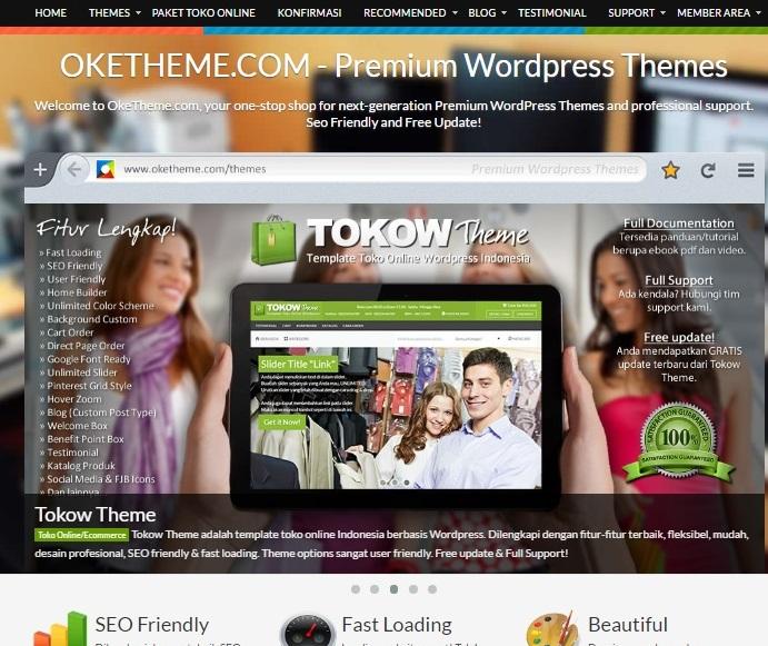 Beli Template Blog Premium 3