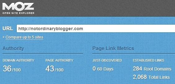 Domain Authority NoB