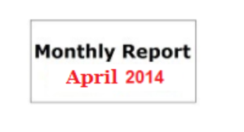 Monthly Report April 2014