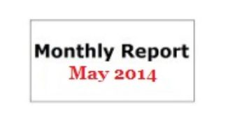 Monthly Report May 2014