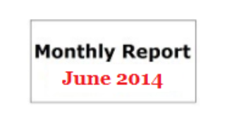 Monthly Report June 2014