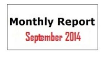 Monthly Report September 2014
