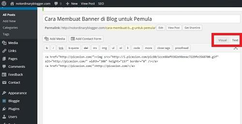 Membuat Banner di Blog dengan Picasion 3