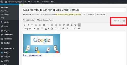 Membuat Banner di Blog dengan Picasion 4