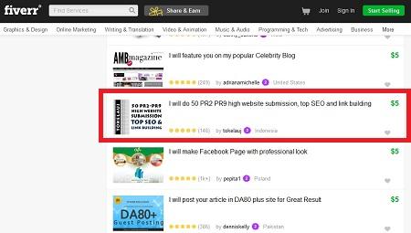 Lowongan Kerja Fiverr Indonesia Online Marketing 2