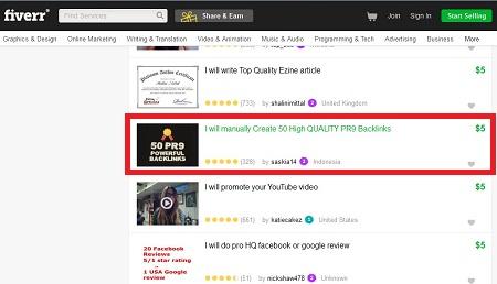 Lowongan Kerja Fiverr Indonesia Online Marketing 3