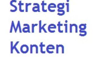 Content Marketing Untuk Pemasaran Produk Atau Jasa