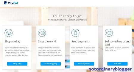 Cara Membuat Akun Paypal Belum Verifikasi