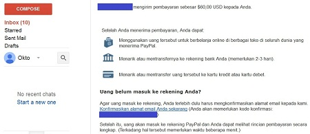 Cara Membuat Akun Paypal Konfirmasi Penerimaan Pembayaran