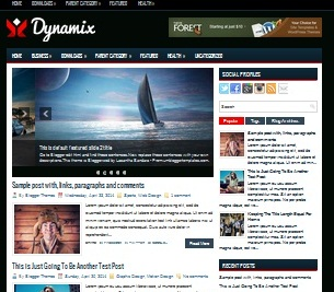 Download Template Tema Teknologi Dynamix Sneakpeak