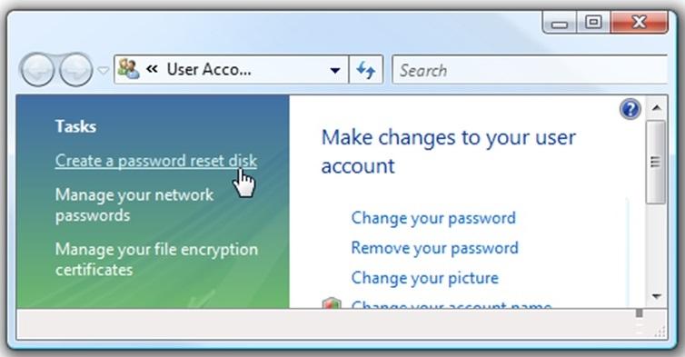 Cara Membuat Password Reset Disk 2