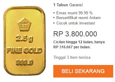 Tips Sukses Investasi Emas Yang Menguntungkan