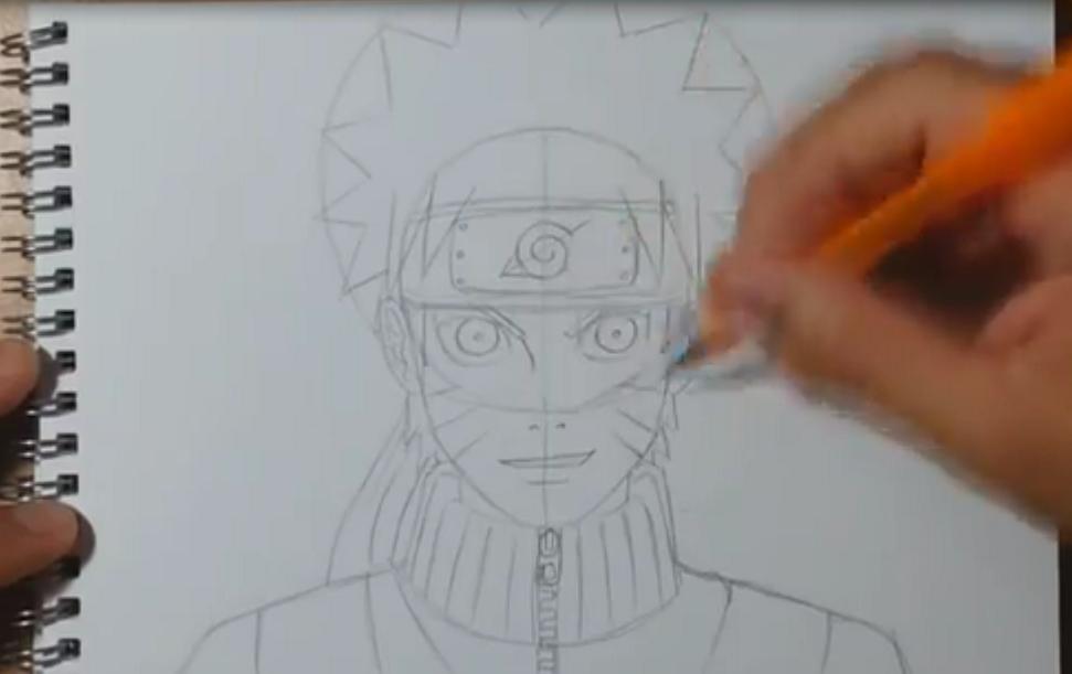 Cara Menggambar Kartun Naruto I Notordinaryblogger