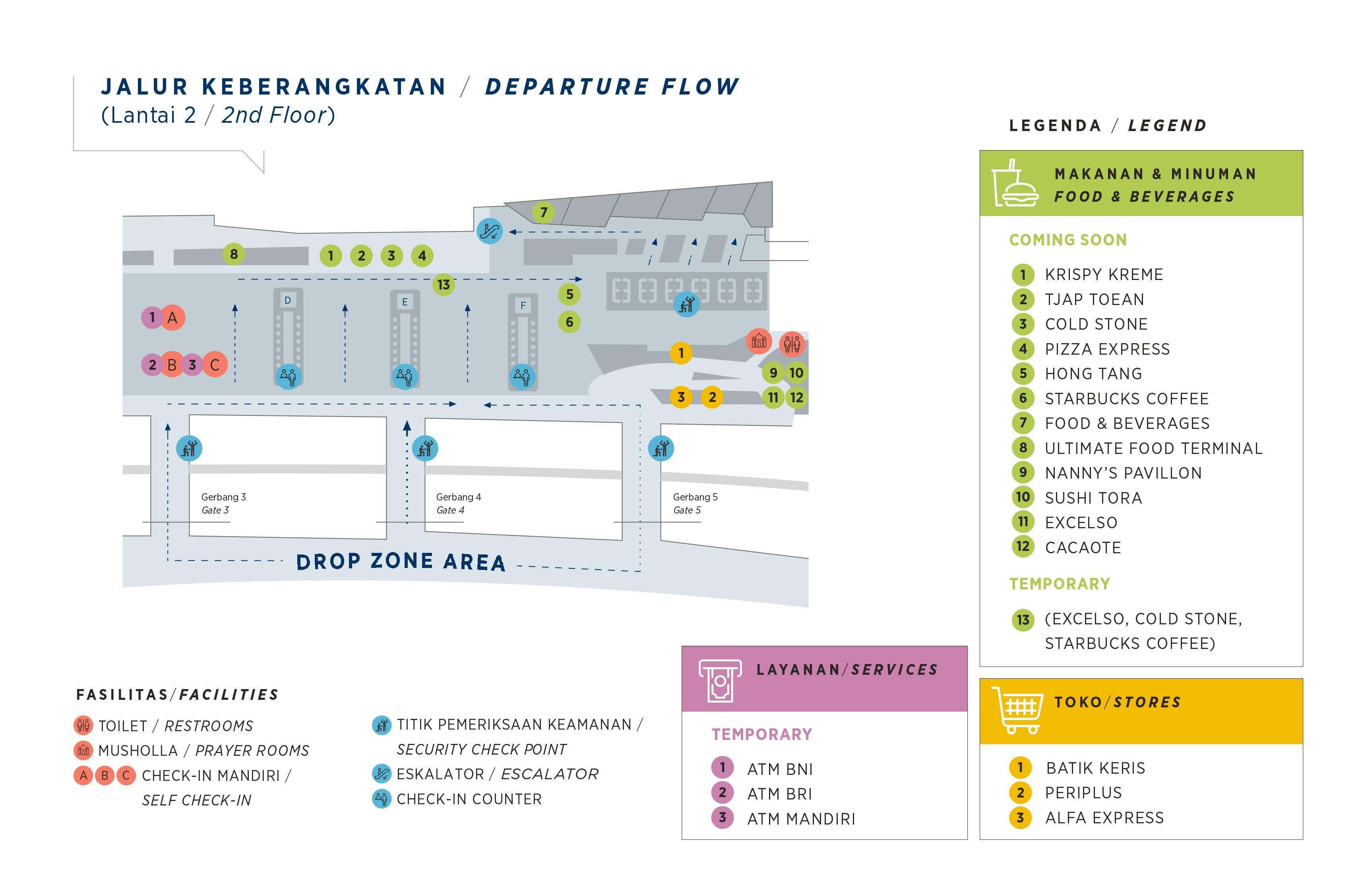 Peta Terminal 3 Bandara Soekarno Hatta – Notordinaryblogger