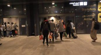 Cara Transit di Doha International Airport